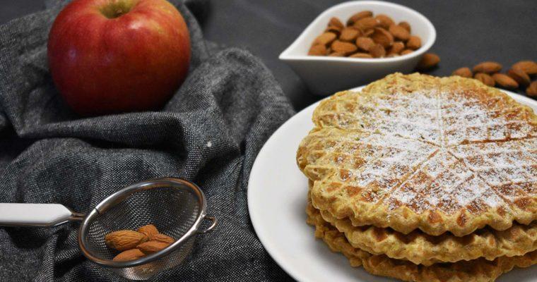Waffli jabuka pir